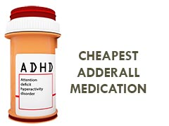 cheapest adderall medication