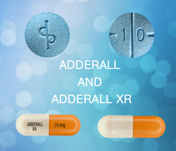 difference between adderall and adderall xr