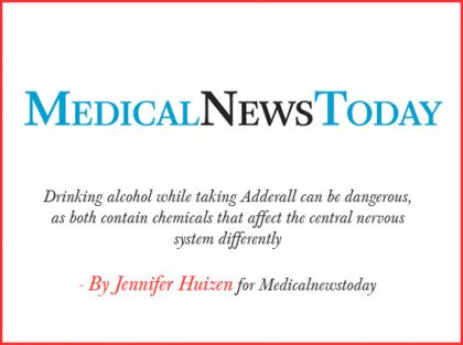 adderall medical news Today